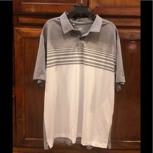 Under Armour CoolSwitch Stripe Golf Polo